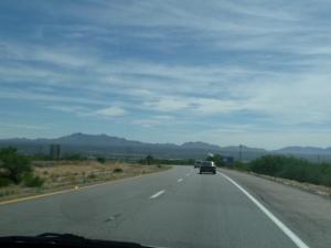 Eastbound on Arizona I-10