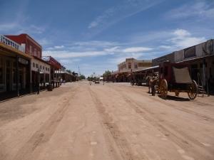 Street Scene, Tombstone AZ
