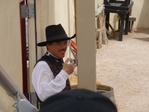 Actor portraying Doc Holliday