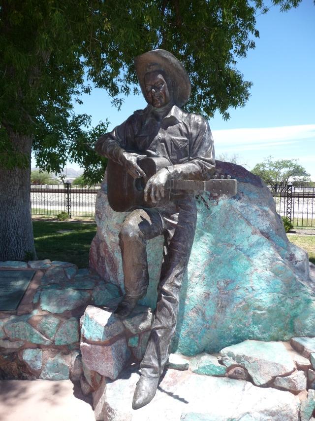 Rex Allen statue, Railroad Park, Willcox, AZ