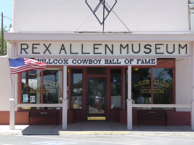 Rex Allen Museum and Cowboy Hall of Fame, Willcox, AZ