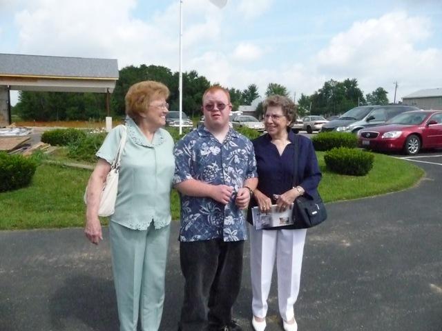Ruth Morris, Andy Kennedy, Dorothy Kennedy