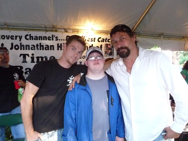 l-r: Scott Hillstrand, Andy Kennedy, Johnathan Hillstrand