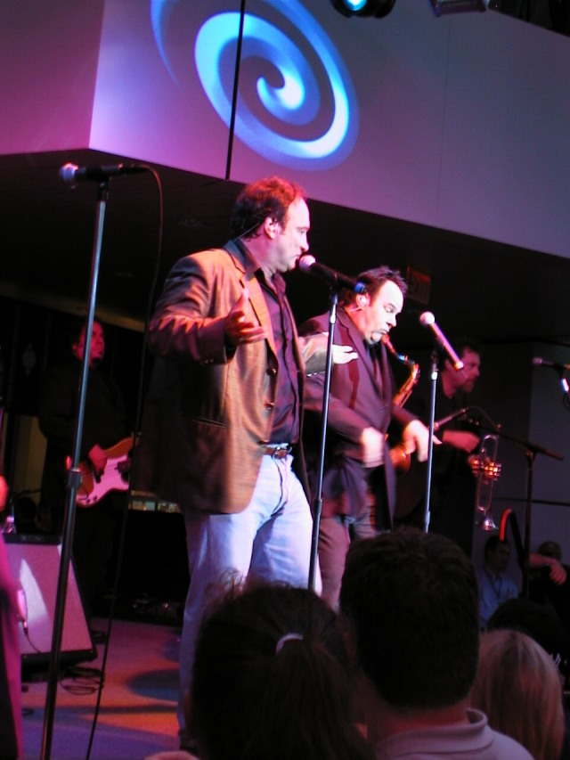 Jim Belushi/Dan Akroyd - Rock Hall Concert