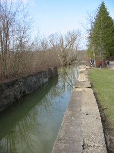 Ohio & Erie Canal remnant