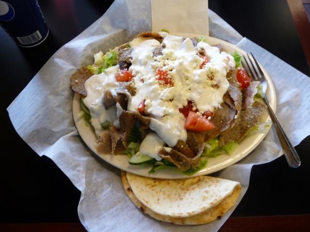 HUGE Pita Salad