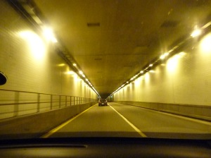 Tunnel through a mountain, West Virginia
