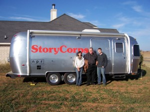 Story Corps Van - Story Corps File Photo