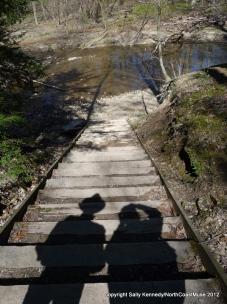 Spring hike at Hogback Ridge, Lake Metroparks, Lake County, Ohio