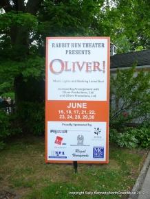 Oliver! at Rabbit Run Theater, Madison, Ohio