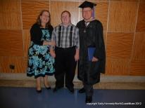 Dana graduates from Franklin University with an MBA - Columbus, Ohio
